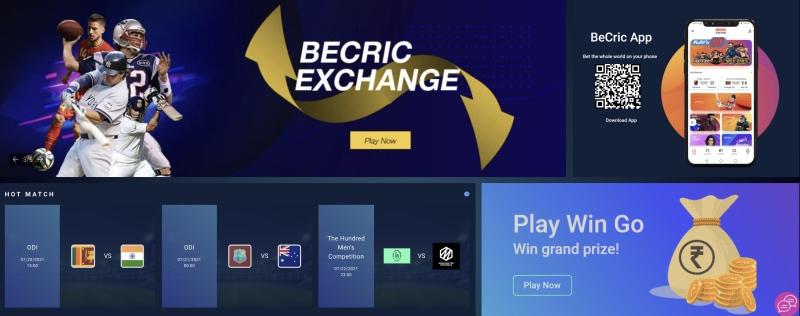 BeCric bonus